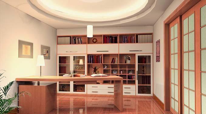 想要安静读书,你不得不知的书房装修注意细节