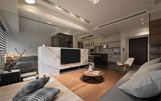 客厅隔间墙改造的几种方法 家里瞬间敞亮多了