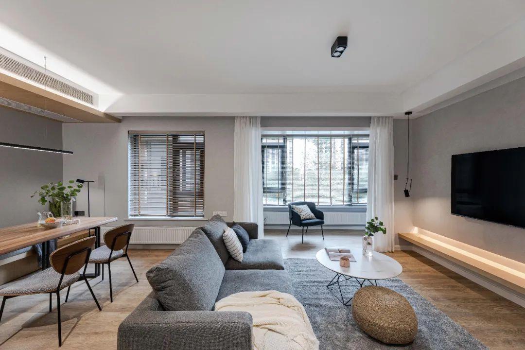 舍弃一间房,多出两个功能,这个110㎡公寓太会改造了!