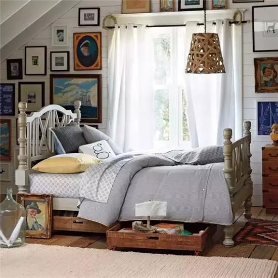 小户型卧室的收纳妙招,是时候把床给用起来啦!
